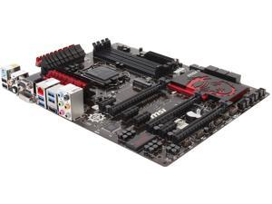 MSI Z87-G45 Gaming LGA 1150 Intel Z87 HDMI SATA 6Gb/s USB 3.0 ATX Pro Gaming with Killer Networking & Sound Blaster Intel Motherboard