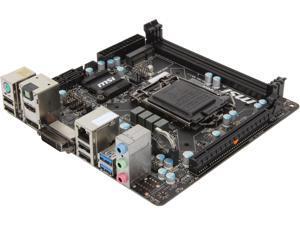 MSI B85I LGA 1150 Intel B85 HDMI SATA 6Gb/s USB 3.0 Mini ITX Intel Motherboard