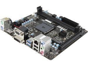 MSI AM1I AM1 SATA 6Gb/s USB 3.0 HDMI Mini ITX AMD Motherboard