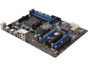 MSI 970A-G43 AM3+ AMD 970 + SB950 SATA 6Gb/s USB 3.0 ATX AMD Motherboard