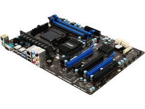 MSI 970A-G46-R AM3+ AMD 970 + SB950 6 x SATA 6Gb/s USB 3.0 ATX AMD Motherboard with UEFI BIOS Certified Refurbished