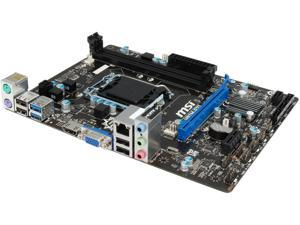 MSI H81M-E33 LGA 1150 Intel H81 HDMI SATA 6Gb/s USB 3.0 Micro ATX Intel Motherboard