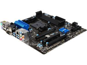 MSI A88XM-E45 V2 FM2+ AMD A88X SATA 6Gb/s USB 3.0 HDMI Micro ATX AMD Motherboard
