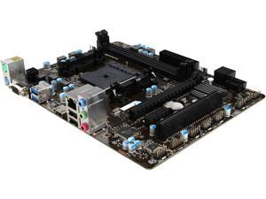MSI A68HM-E33 V2 FM2+ AMD A68H SATA 6Gb/s USB 3.0 HDMI Micro ATX AMD Motherboard