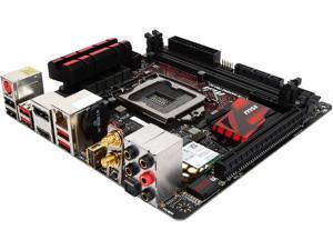 MSI Z170I Gaming Pro AC LGA 1151 Intel Z170 HDMI SATA 6Gb/s USB 3.1 Mini ITX Intel Motherboard