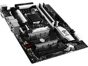 MSI Z170A Krait Gaming 3X LGA 1151 Intel Z170 HDMI SATA 6Gb/s USB 3.1 ATX Intel Motherboard