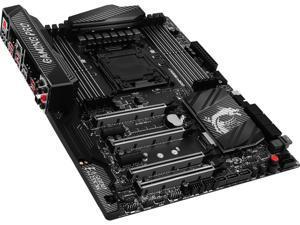 MSI X99A GAMING PRO CARBON LGA 2011-v3 Intel X99 SATA 6Gb/s USB 3.1 ATX Intel Motherboard