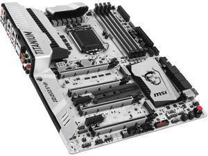 MSI Z270 XPOWER GAMING TITANIUM LGA 1151 Intel Z270 HDMI SATA 6Gb/s USB 3.1 ATX Intel Motherboard