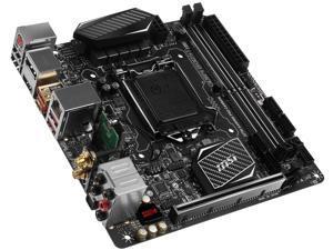 MSI Z270I GAMING PRO CARBON AC LGA 1151 Intel Z270 HDMI SATA 6Gb/s USB 3.1 Mini ITX Intel Motherboard