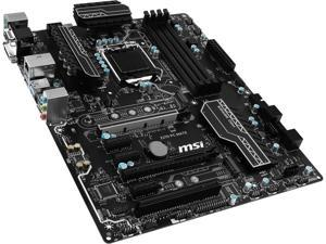 MSI Z270 PC MATE LGA 1151 Intel Z270 HDMI SATA 6Gb/s USB 3.1 ATX Intel Motherboard