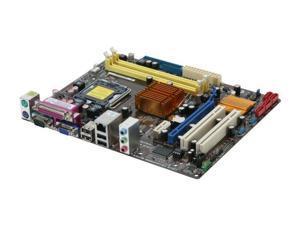 ASUS P5QPL-AM LGA 775 Intel G41 Micro ATX Intel Motherboard