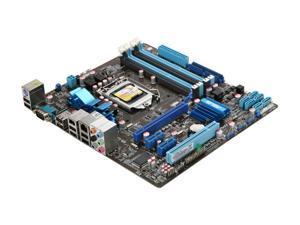 ASUS P7P55-M LGA 1156 Intel P55 Micro ATX Intel Motherboard