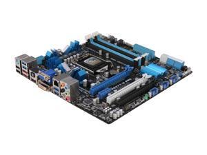 ASUS P8Z77-M PRO LGA 1155 Intel Z77 HDMI SATA 6Gb/s USB 3.0 Micro ATX Intel Motherboard