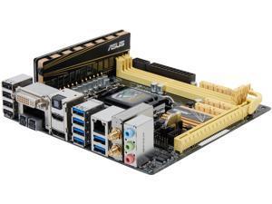 ASUS Z87I-DELUXE LGA 1150 Intel Z87 HDMI SATA 6Gb/s USB 3.0 Mini ITX Intel Motherboard