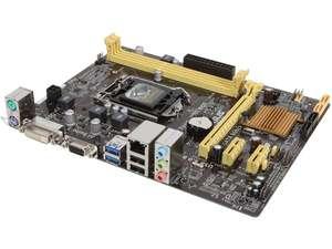 ASUS H81M-K LGA 1150 Intel H81 SATA 6Gb/s USB 3.1 uATX Intel Motherboard