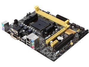 ASUS A58M-E FM2+ AMD A58 FCH (Bolton D2) Micro ATX AMD Motherboard