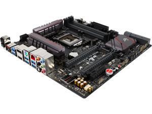 ASUS ROG MAXIMUS VIII GENE LGA 1151 Intel Z170 HDMI SATA 6Gb/s USB 3.1 Micro ATX Intel Gaming Motherboard