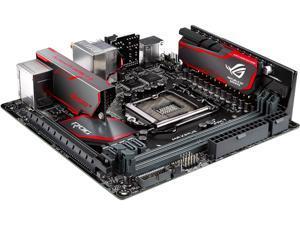 ASUS ROG MAXIMUS VIII IMPACT LGA 1151 Intel Z170 Intel USB 3.1 U.2 Mini ITX Intel Gaming Motherboard