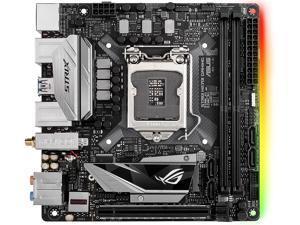 ASUS ROG STRIX H270I GAMING LGA 1151 HDMI SATA 6Gb/s USB 3.1 Mini ITX Intel Motherboard
