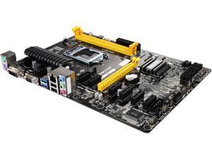 BIOSTAR TB85 LGA 1150 Intel B85 SATA 6Gb/s USB 3.0 ATX Intel Motherboards for Cryptocurrency Mining (BTC)