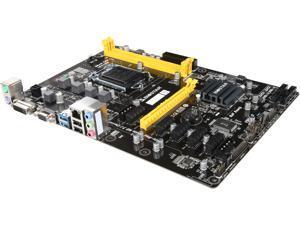 BIOSTAR H81A LGA 1150 Intel H81 SATA 6Gb/s USB 3.0 ATX Intel Motherboard for Cryptocurrency Mining
