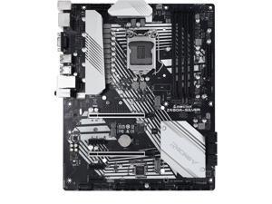 BIOSTAR RACING Z490A-SILVER LGA 1200 Intel Z490 SATA 6Gb/s ATX Intel Motherboard