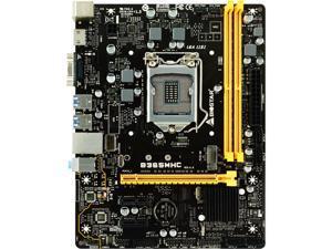 BIOSTAR B365MHC LGA 1151 (300 Series) Intel B365 SATA 6Gb/s Micro ATX Intel Motherboard