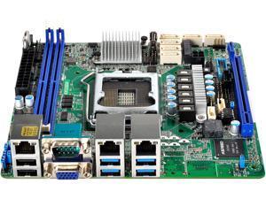 AsRock Rack E3C232D2I Mini ITX Server Motherboard Intel C232