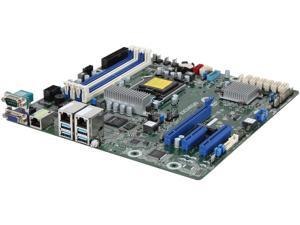 AsRock Rack E3C246D4U Micro ATX Server Motherboard LGA 1151 Intel C246