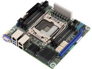 ASRock Rack X299 WSI/IPMI Mini ITX Server Motherboard Single Socket R4(LGA 2066) Intel X299 IPMI Dual LAN
