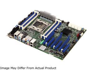 AsRock Rack C422 WS/IPMI ATX Server Motherboard Single Socket R4 LGA 2066 Intel C422 with Dedicated IPMI
