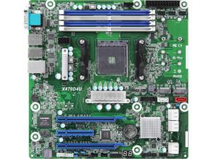 AsRock Rack X470D4U2-2T/BULK Micro ATX Server Motherboard AM4 PGA 1331 AMD X470