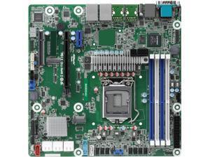 AsRock Rack W480D4U mATX Server Motherboard Intel  LGA 1200 Xeon W-1200 00 W480