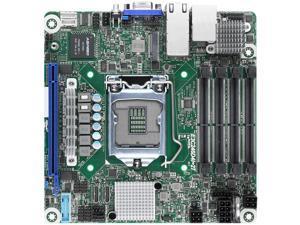 AsRock Rack E3C246D4I-2T Mini-ITX Server Motherboard Intel LGA 1151 C246