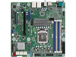 AsRock Rack W480M WS mATX Workstation Motherboard Intel  LGA 1200 Xeon W-1200 W480