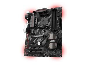 MSI B350 TOMAHAWK AM4 AMD B350 SATA 6Gb/s USB 3.1 HDMI ATX AMD Motherboard