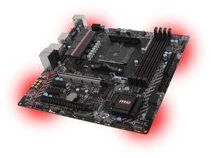 MSI B350M MORTAR AM4 AMD B350 SATA 6Gb/s USB 3.1 HDMI Micro ATX AMD Motherboard