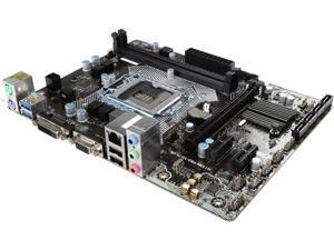 MSI H110M PRO-VD PLUS LGA 1151 Intel H110 SATA 6Gb/s USB 3.1 Micro ATX Motherboards - Intel