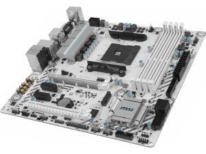 MSI B350M MORTAR ARCTIC AM4 AMD B350 SATA 6Gb/s USB 3.1 HDMI Micro ATX AMD Motherboard
