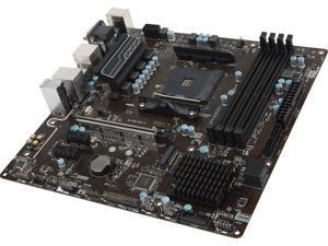 MSI B350M PRO-VDH AM4 AMD B350 SATA 6Gb/s USB 3.1 HDMI Micro ATX AMD Motherboard
