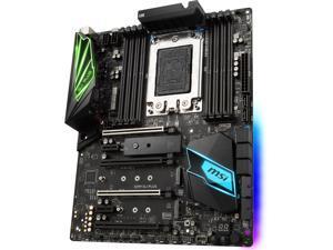 MSI X399 SLI PLUS sTR4 AMD X399 SATA 6Gb/s USB 3.1 ATX Motherboards - AMD