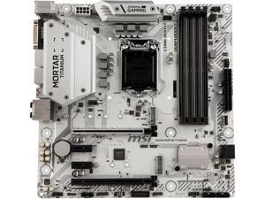 MSI B360M MORTAR TITANIUM LGA 1151 (300 Series) Intel B360 HDMI SATA 6Gb/s Micro ATX Intel Motherboard