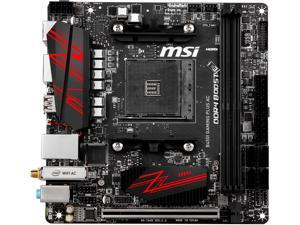 MSI B450I GAMING PLUS AC AM4 AMD B450 SATA 6Gb/s USB 3.1 HDMI Mini ITX AMD Motherboard