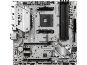 MSI B450M MORTAR TITANIUM AM4 AMD B450 SATA 6Gb/s USB 3.1 HDMI AMD Motherboard