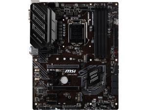 MSI PRO Z390-A PRO LGA 1151 (300 Series) Intel Z390 SATA 6Gb/s ATX Intel Motherboard