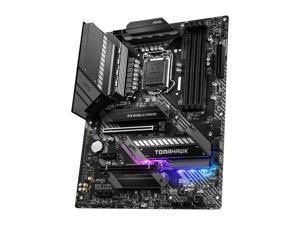 MSI MAG Z490 TOMAHAWK LGA 1200 Intel Z490 SATA 6Gb/s ATX Intel Motherboard