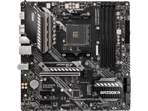 MSI MAG B550M BAZOOKA AM4 AMD B550 SATA 6Gb/s Micro ATX AMD Motherboard