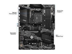 MSI PRO B550-A PRO AM4 AMD B550 SATA 6Gb/s ATX AMD Motherboard