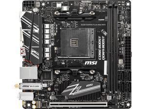 MSI B450I GAMING PLUS MAX WIFI AM4 AMD B450 SATA 6Gb/s Mini ITX AMD Motherboard