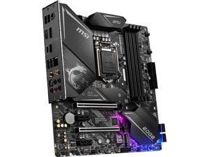 MSI MPG Z490M GAMING EDGE WIFI LGA 1200 Intel Z490 SATA 6Gb/s Micro ATX Intel Motherboard